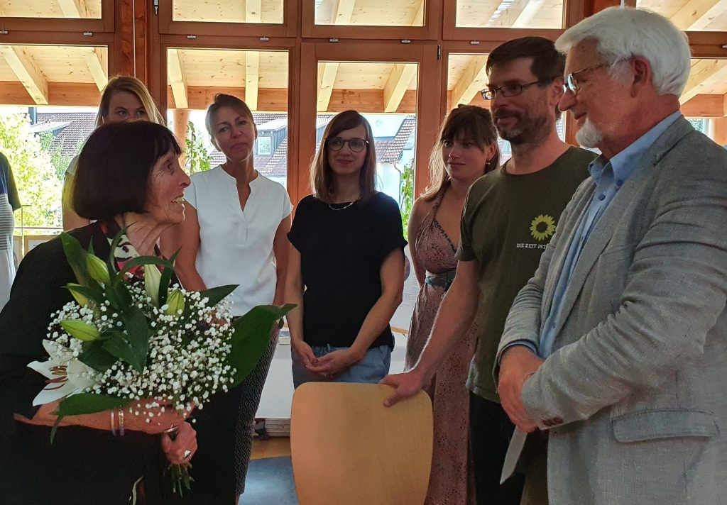Glückwunschstrauß an Frau Schauwecker-Zimmer